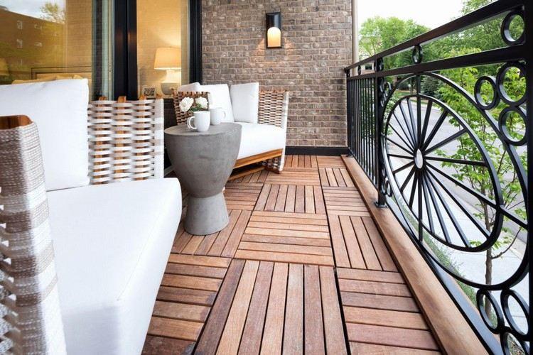 Balkonboden Ideen Welche Bodenbel 228 Ge Eignen Sich F 252 R Den