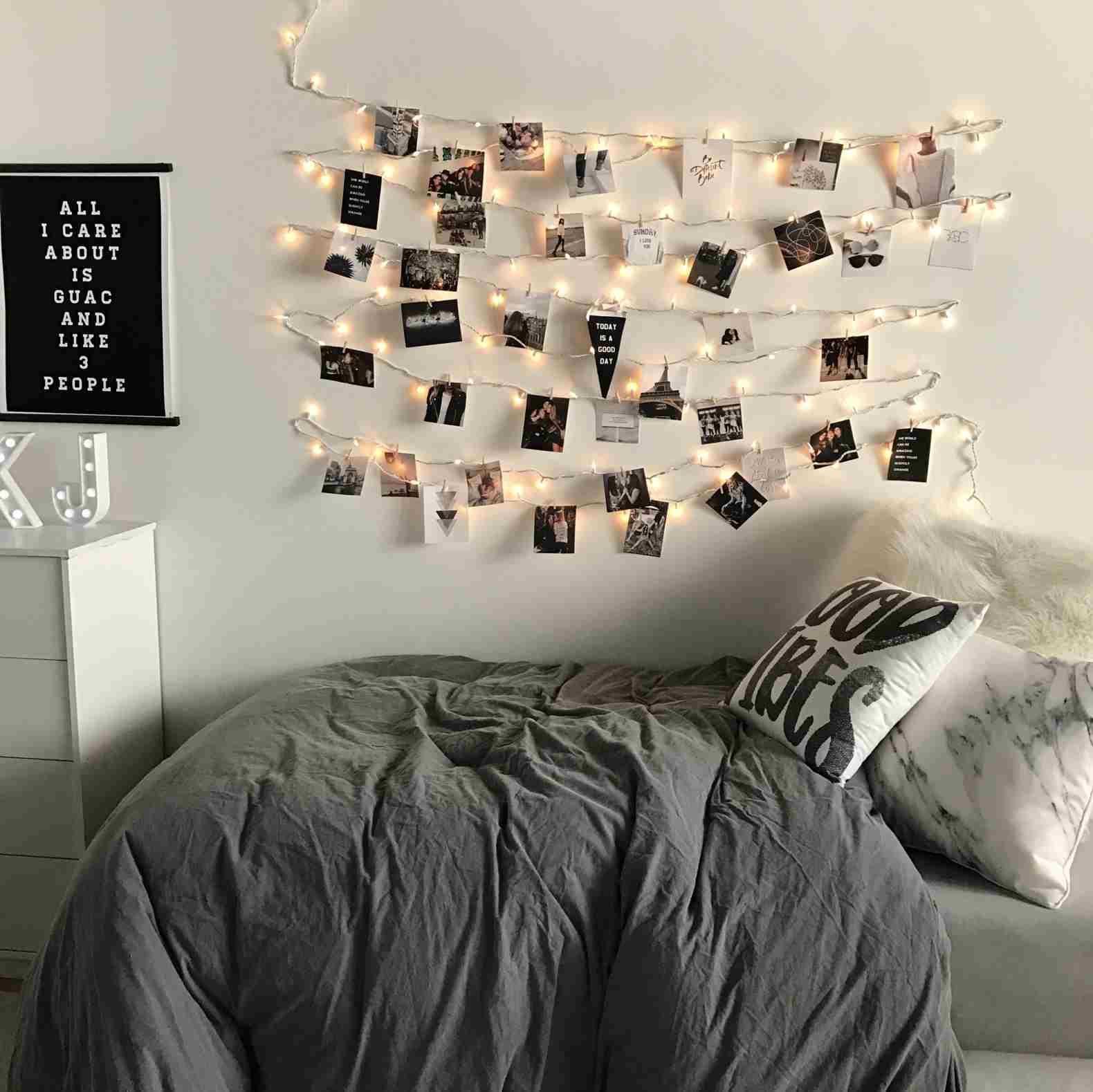 Tumblr Zimmer Inspiration: 50 tolle Schlafzimmer Deko ... on Room Decor Ideas De Cuartos Aesthetic id=23398