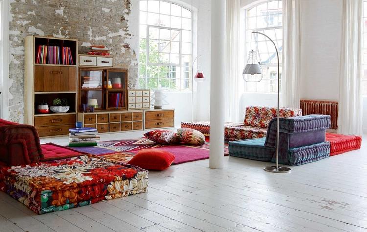 meubles de salon luxueux par roche bobois