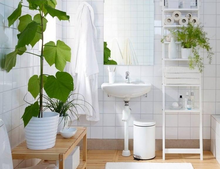 35 Idees Fraiches Pour Les Plantes Dans La Salle De Bains