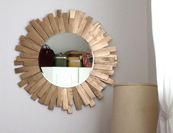 mieux embellir le cadre de miroir
