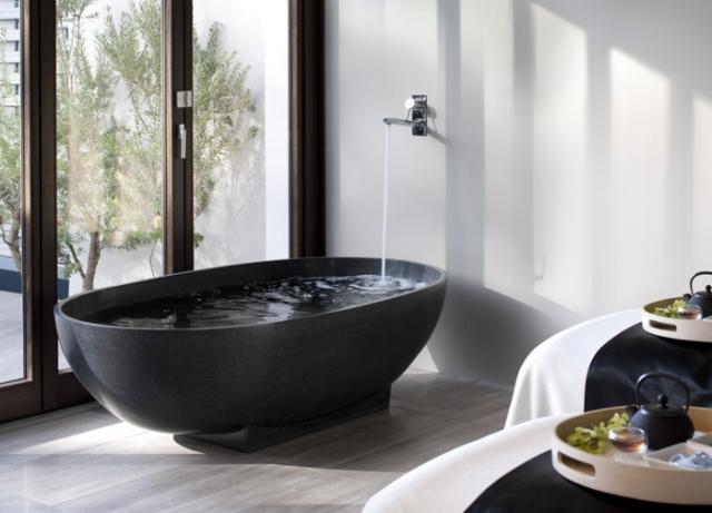 Baignoire Lot Moderne Luxe En Pierre Naturelle Par Apaiser