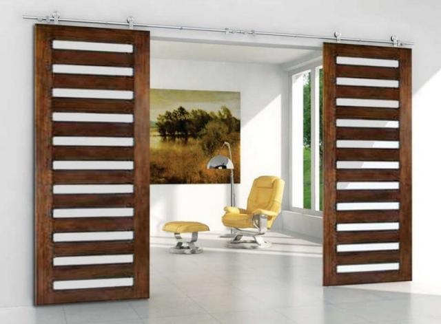 Porte Coulissante De Design Moderne