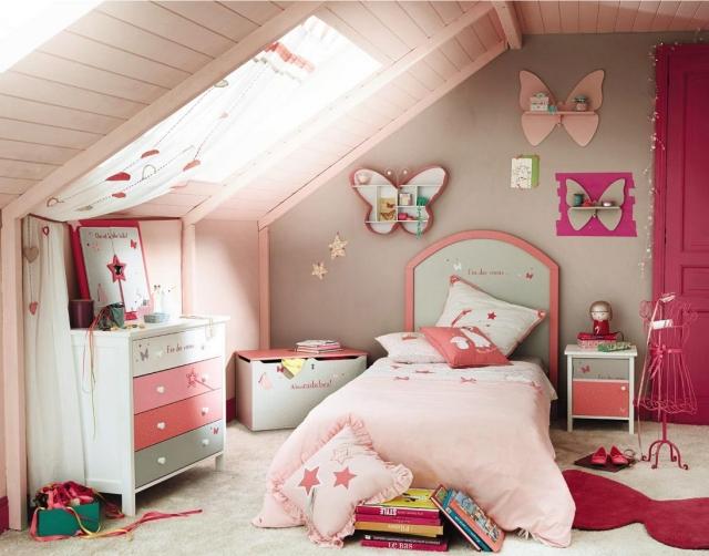 Ides De Dco Chambre Fille Dans Le Style Romantique Trs Chic