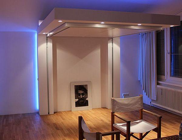 Lit Escamotable Plafond Pour Plus Despace En 17 Ides Top
