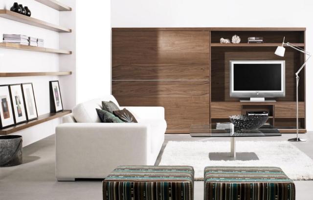 Salon Contemporain Mobilier De Style Et Dcoration Discrte
