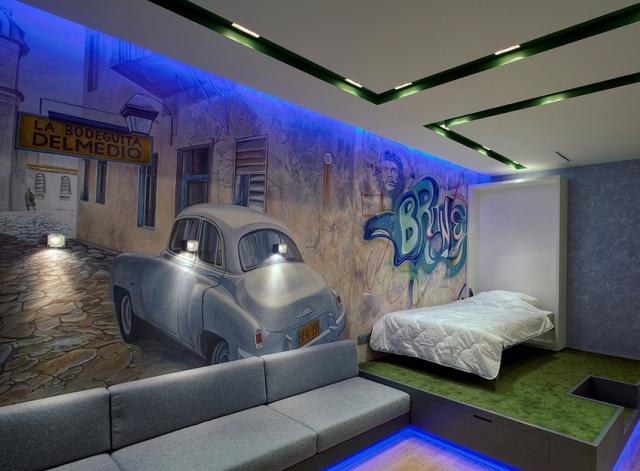 Dcoration Chambre Ado Street Art Clairage LED Des