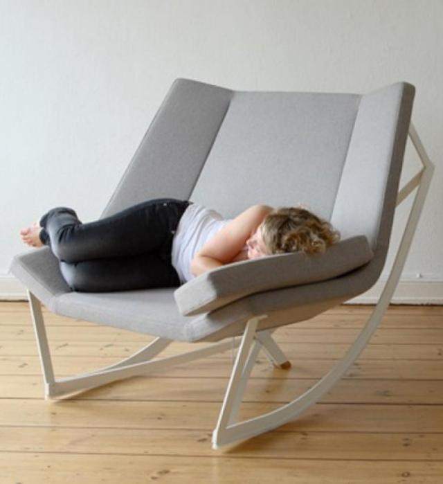 Fauteuil Bascule Design 25 Ides De Rocking Chair Moderne