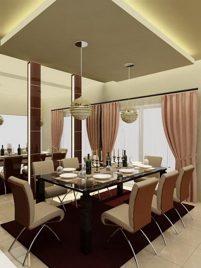 Salle Manger Moderne Avec Des Meubles Sympas 29 Ides