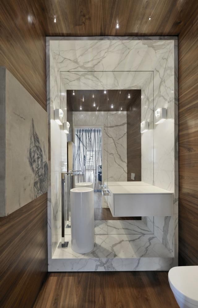 Salle De Bains En Bois 30 Ides Pour Un Espace Tout Confort