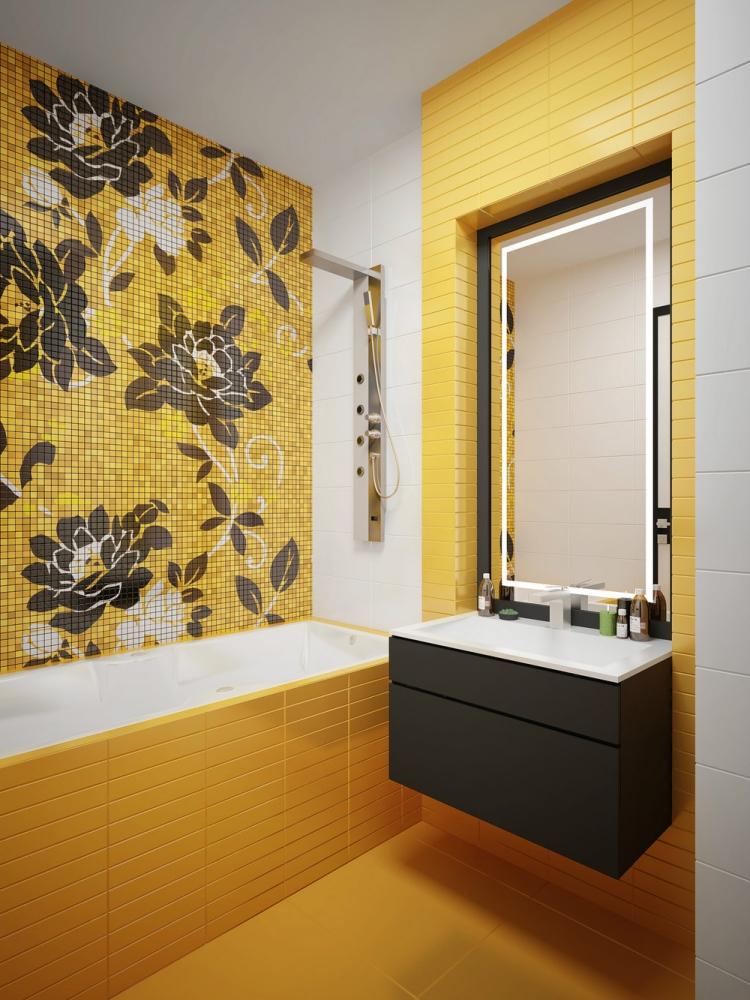 amenagement salle de bains sans