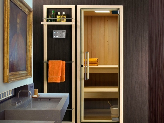 Amnagement Salle De Bains Avec Sauna 28 Ides Inspirante