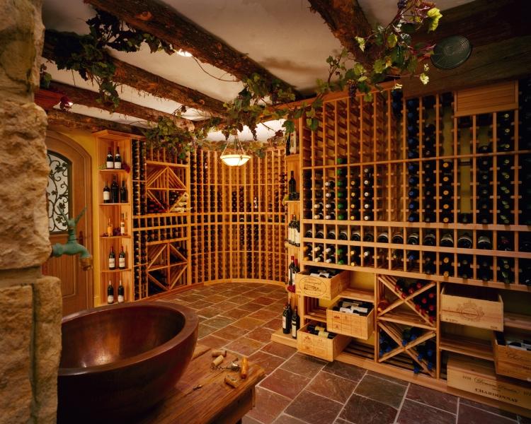 vin et la cave a vin a maison