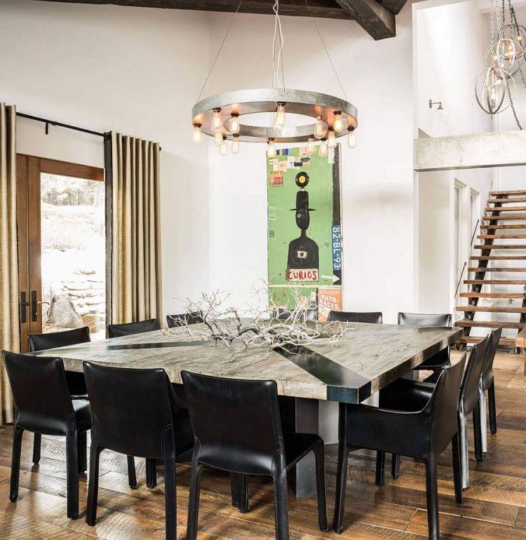Design Salle Manger De Style Campagne Chic Et Rustique