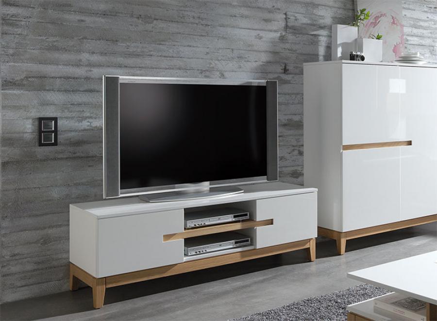 meuble de salon design en blanc 20