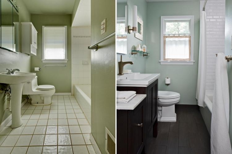 renovation salle de bains idees et photos avant et apres super motivantes