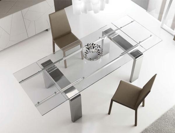 Table Manger Moderne En Bois Mtal Et Verre 16 Designs