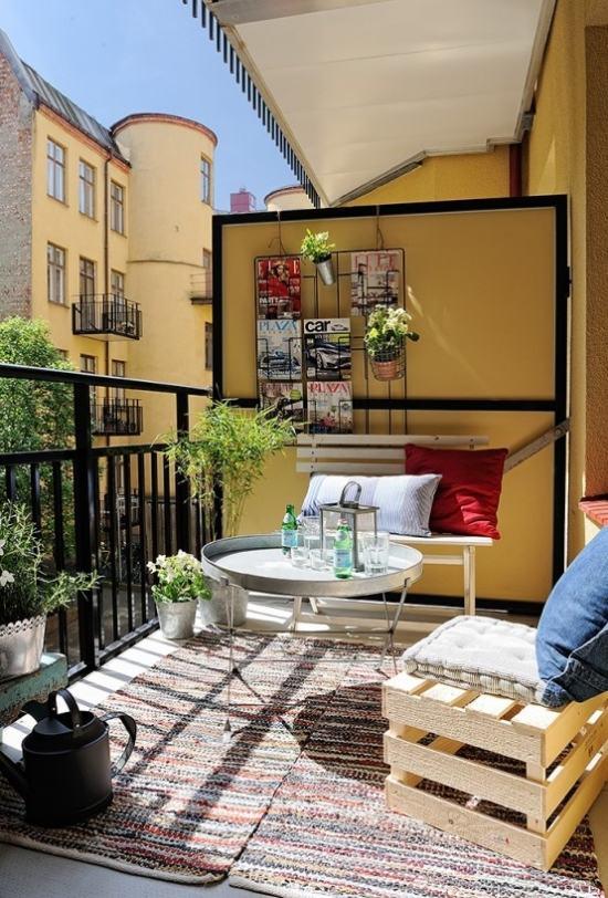 Ides Dco Pour Le Balcon Intgrez Le Style Boho Chic Espace
