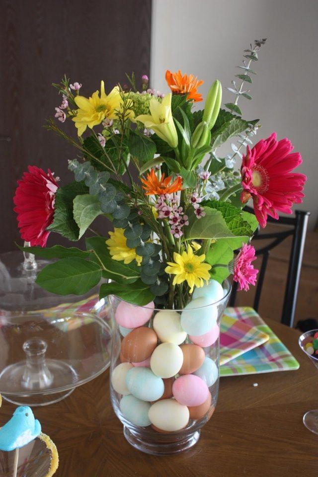 Composition Florale Pour Pques 23 Ides Dco Pour La Table