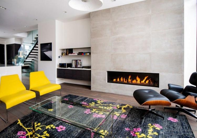 decoration et design du salon moderne