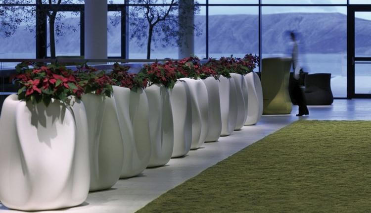 cache pots design pour une conception