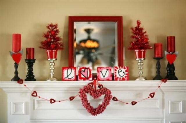 Cur Damour En Tant Que Dcoration Pour La Saint Valentin
