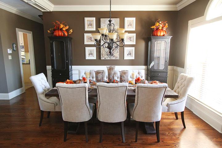 ensemble de salle a manger contemporain et idees de decoration reussie