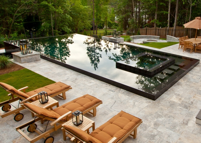 Piscine Extrieure De Luxe Designs Tendance 2015 En Photos