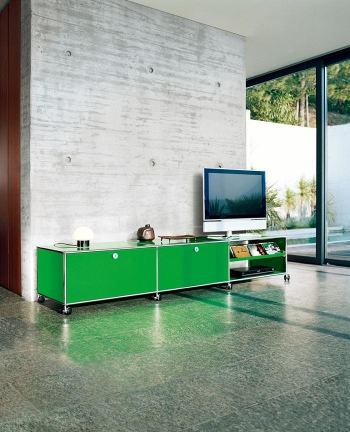 meuble tv design 23 idees de meubles bas pour moderniser le salon