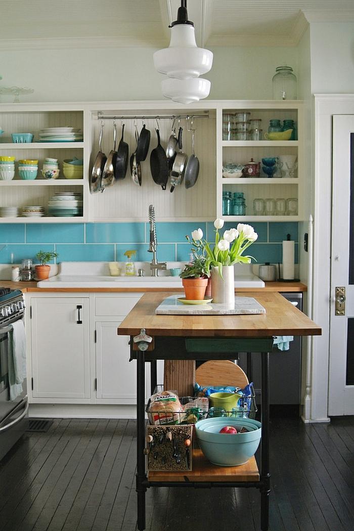 petite cuisine avec ilot central oui