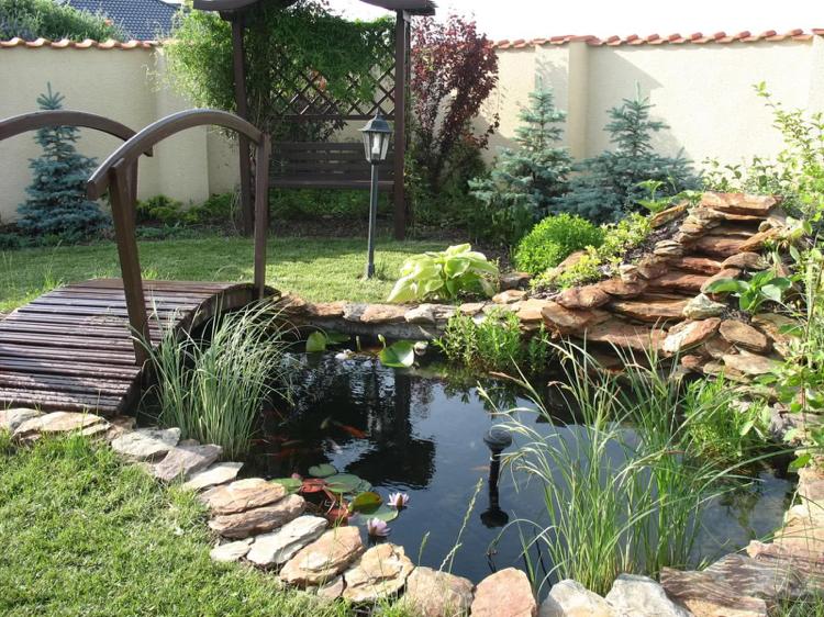 faire un bassin de jardin 30 idees