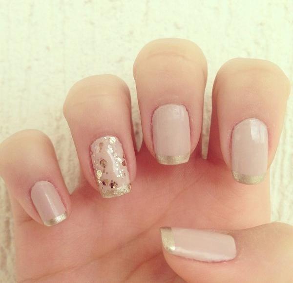vernis-shellac-idee-deco-ongles-French-manucure-paillettes