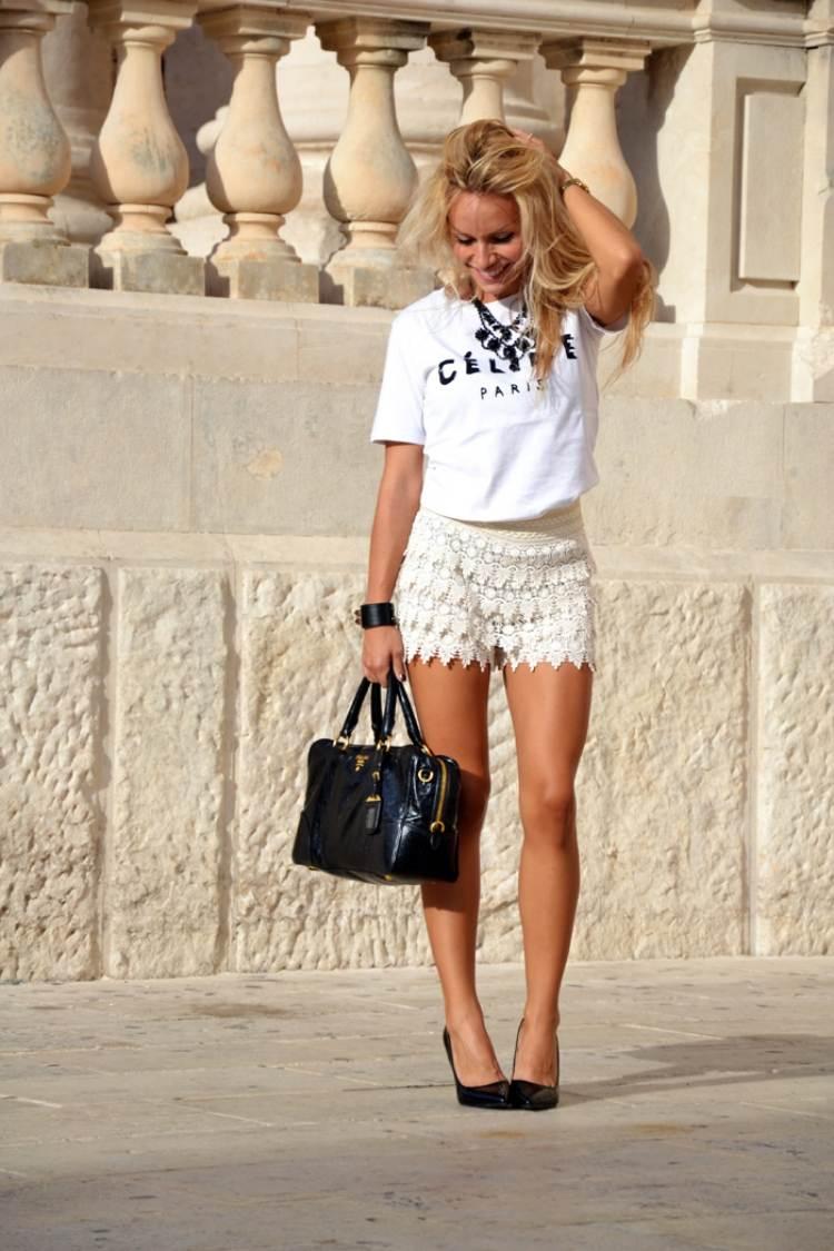Short Femme 50 Inspirations Pour Un Look Frais En T
