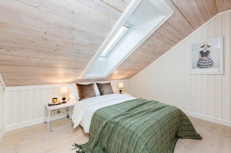 chambre avec lambris blanc. Black Bedroom Furniture Sets. Home Design Ideas