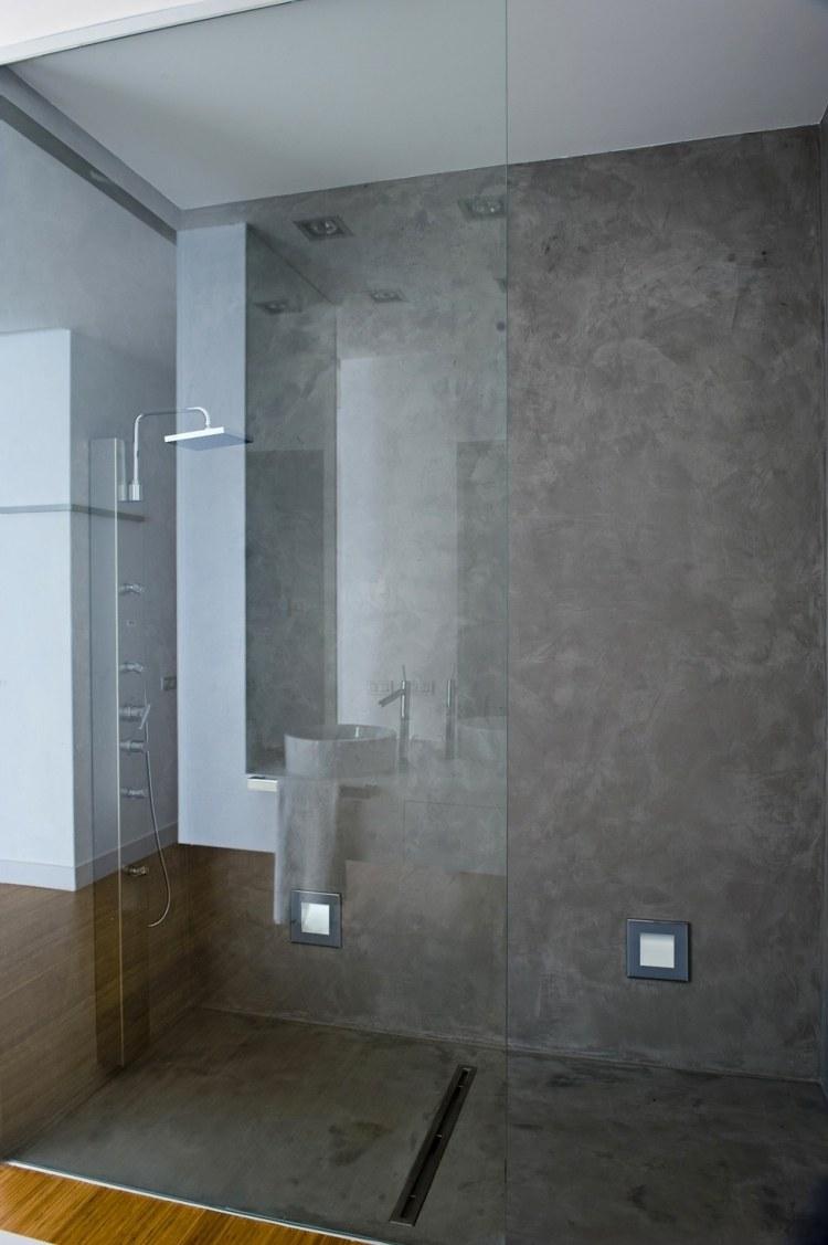 Douche Litalienne Encastrable 50 Salles De Bains Modernes