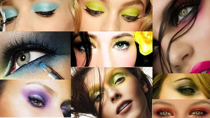 idees-maquillage-ete-couleurs-néon-vert-lime-turquoise-pourpre