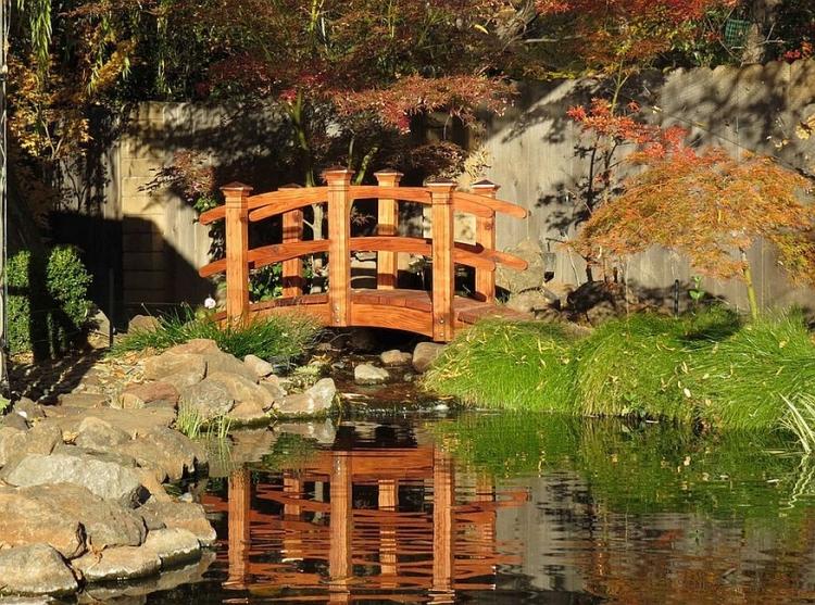 pont de jardin designs inspirants en