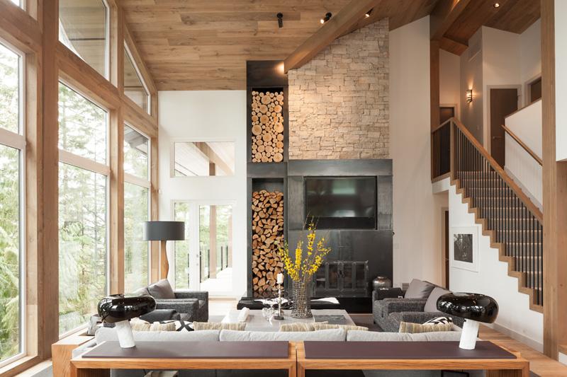 amenagement interieur moderne d une maison au canada