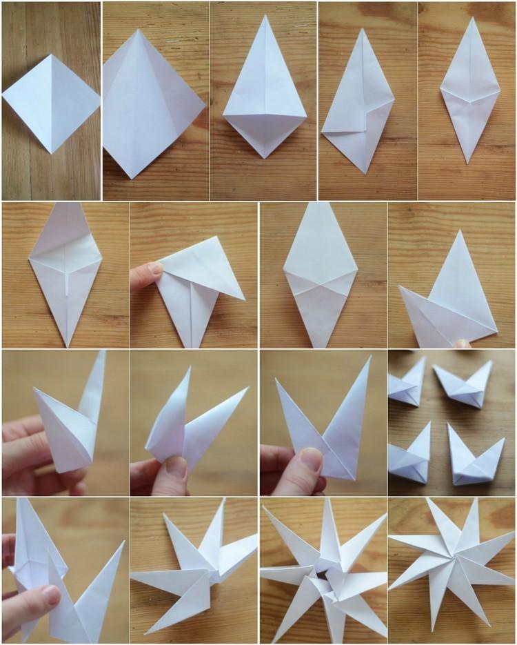 Bricolage De Nol En Papier Ides Cool Et Tapes Faciles