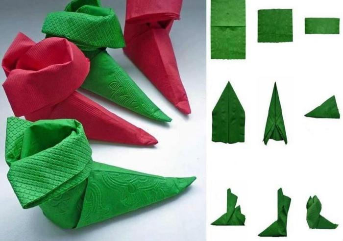 pliage de serviette pour noel des idees magnifiques et instructions