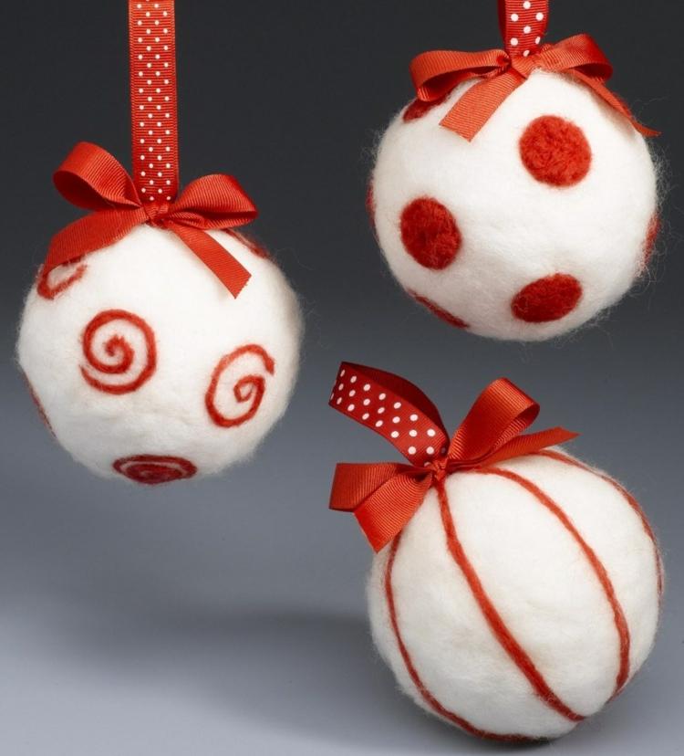 affordable boule de nol dcorer u ides inspirantes et cratives with boule de noel laine