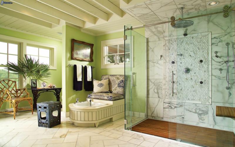 couleur salle de bains idees sur le