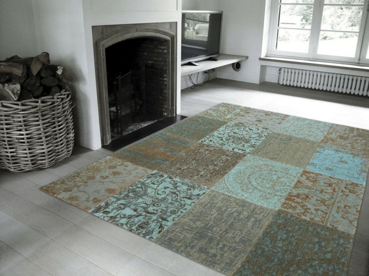 tapis salon tendance en 55 idees de