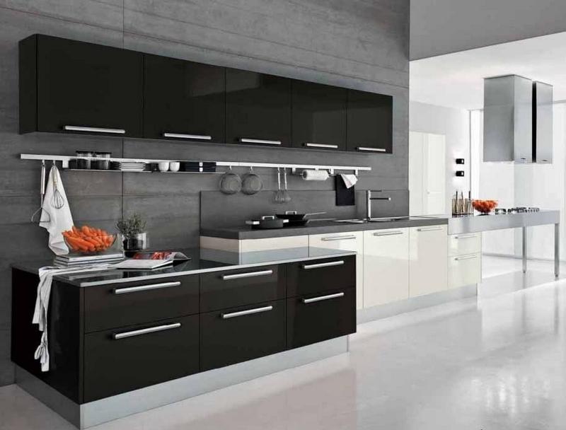 Cuisine Blanche Et Noire Moderne Ou Classique En 55 Ides