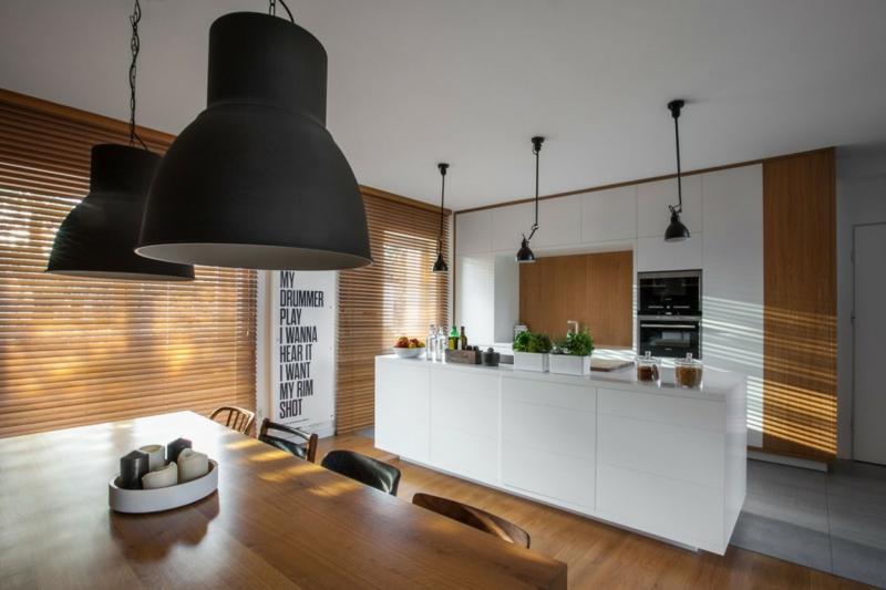 Cuisine Bois Et Blanc Dans Un Appartement En 25 Ides Super