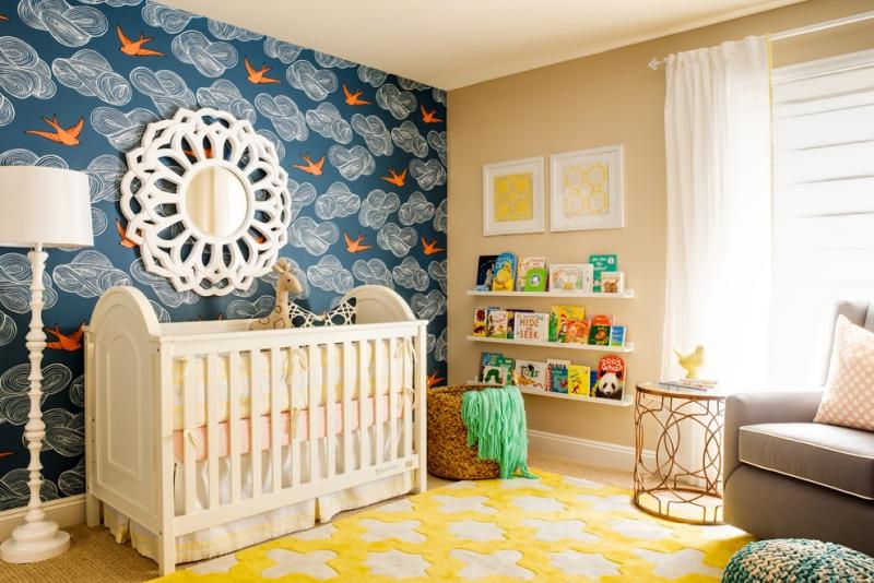 decoration chambre bebe garcon en bleu