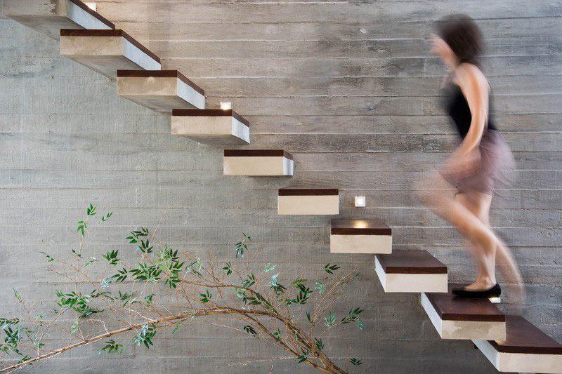 Escalier Sans Rampe Ni Main Courante En 12 Designs Cool