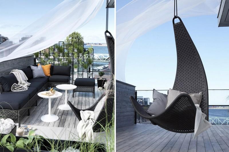 Mobilier Balcon Compact 50 Ides Pour Les Petits Espaces