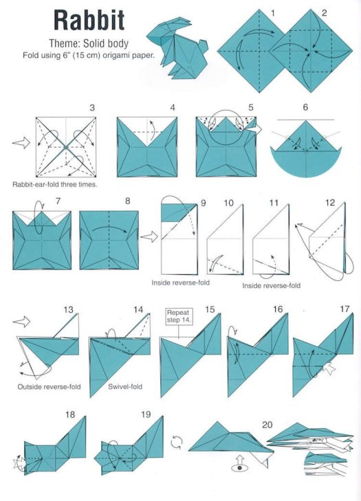 origami facile pour debutant animaux tutorial origami handmade. Black Bedroom Furniture Sets. Home Design Ideas