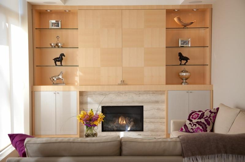 rangement salon moderne 35 idees top